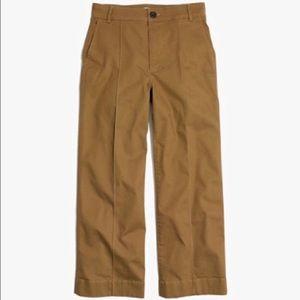 Madewell Tan Langford Crop Wide Leg Pants 29